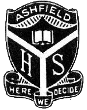 Ashfield Boys High School logo